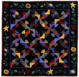 Mary%27s Garden Pattern Wall Quilts   Quilt Sampler