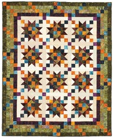 Enchanted Stars Pattern Throws Summer Quilts  Quilt Sampler