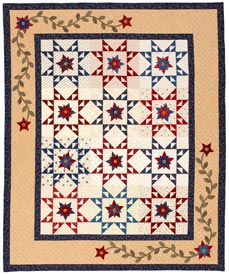 Seeing Double Pattern Throws Summer Quilts Fourth of July Quilts Quilt Sampler