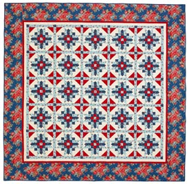 Summer Sky Pattern Bed Quilts Summer Quilts Fourth of July Quilts Quilt Sampler