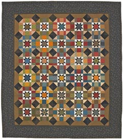 Army Stars Pattern Bed Quilts   Quilt Sampler