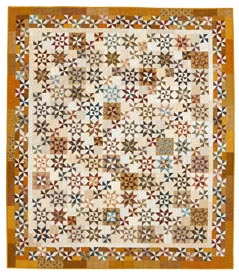 Scattered Stars Pattern Throws   Quilt Sampler