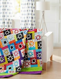 Star Burst Pattern Bed Quilts Summer Quilts  Quilt Sampler
