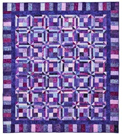 Purple Reigns Pattern Bed Quilts   Quilt Sampler