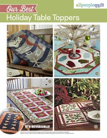 Our Best Holiday Table Toppers Pattern