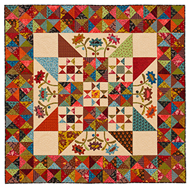 Late Bloomers Pattern Throws Spring Quilts  American Patchwork & Quilting