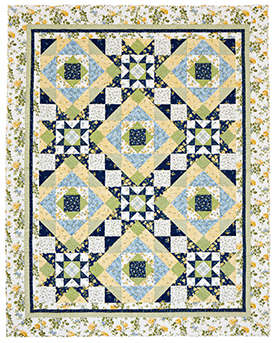 Summer Bliss Pattern Bed Quilts Summer Quilts  American Patchwork & Quilting