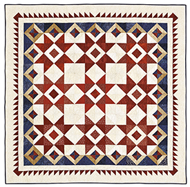 Red, White, and Oooh  Pattern Throws Fourth of July Quilts  American Patchwork & Quilting