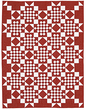 Create a Classic Pattern Throws Christmas Quilts  American Patchwork & Quilting