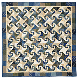 Winding Trails Pattern Throws Winter Quilts  American Patchwork & Quilting