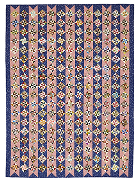 Winning Combination Pattern Throws   American Patchwork & Quilting