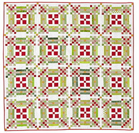 Holiday Party Pattern Throws Christmas Quilts American Patchwork & Quilting
