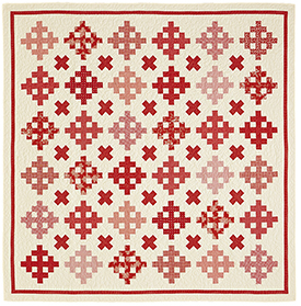 Cross Reference Pattern Throws American Patchwork & Quilting