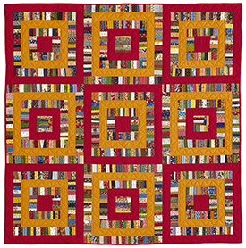 String Theory Pattern Throws American Patchwork & Quilting