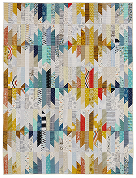 Wavelength Pattern Throws American Patchwork & Quilting