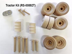 Construction-Grade Tractor Project Kit