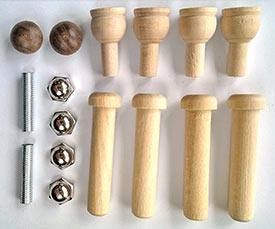 Construction-Grade Roller Project Kit - RS-01072
