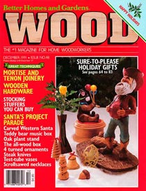 WOOD Issue 48, December 1991, WOOD Magazine