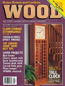 WOOD Issue 63, September 1993, WOOD Magazine
