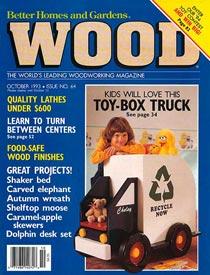 WOOD Issue 64, October 1993, WOOD Magazine