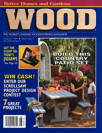 WOOD Issue 71, August 1994, WOOD Magazine