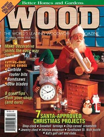 WOOD Issue 75, December 1994, WOOD Magazine