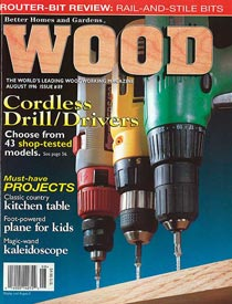 WOOD Issue 89, August 1996, WOOD Magazine