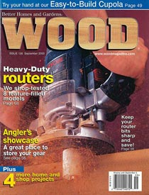 WOOD Issue 126, September 2000, WOOD Magazine