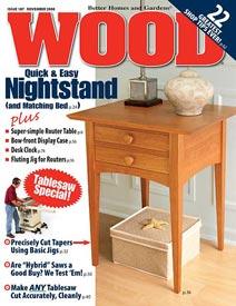 WOOD Issue 187, November 2008