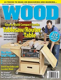 WOOD Issue 213, September 2012