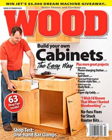 WOOD Issue 217, March 2013