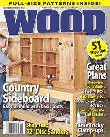 WOOD Issue 222, November 2013