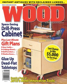WOOD Issue 230, December/January 2014/2015, WOOD Magazine