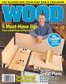 WOOD Issue 231, February 2015, WOOD Magazine