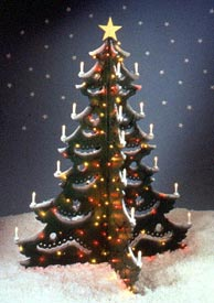 4-foot Christmas Tree : Large-format Paper Woodworking PlanOutdoor Seasonal Yard Figures Holidays