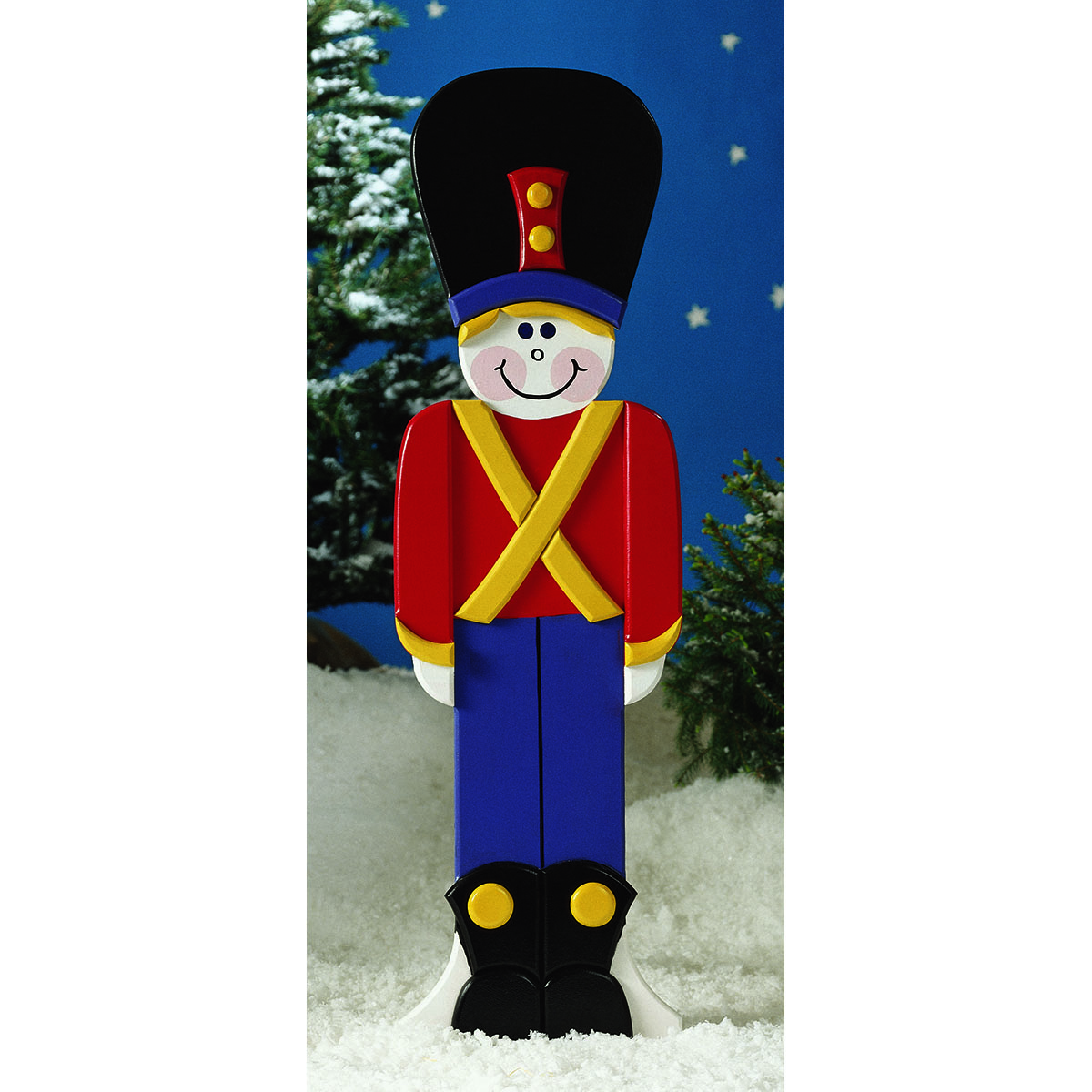 Toy Soldier : Large-format Paper Woodworking Plan