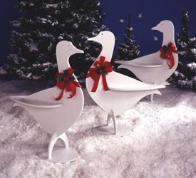 Holiday Honkers : Large-format Paper Woodworking Plan