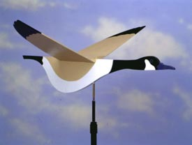 High-Flying Goose Weather Vane : Large-format Paper Woodworking PlanOutdoor Seasonal Yard Figures Outdoor Outdoor Accessories