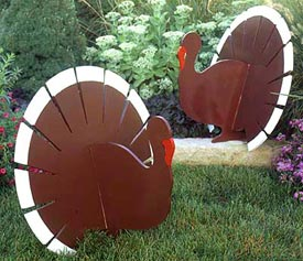 Grand Old Gobblers : Large-format Paper Woodworking Plan