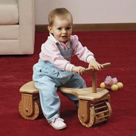 Toddler Town Car : Large-format Paper Woodworking Plan