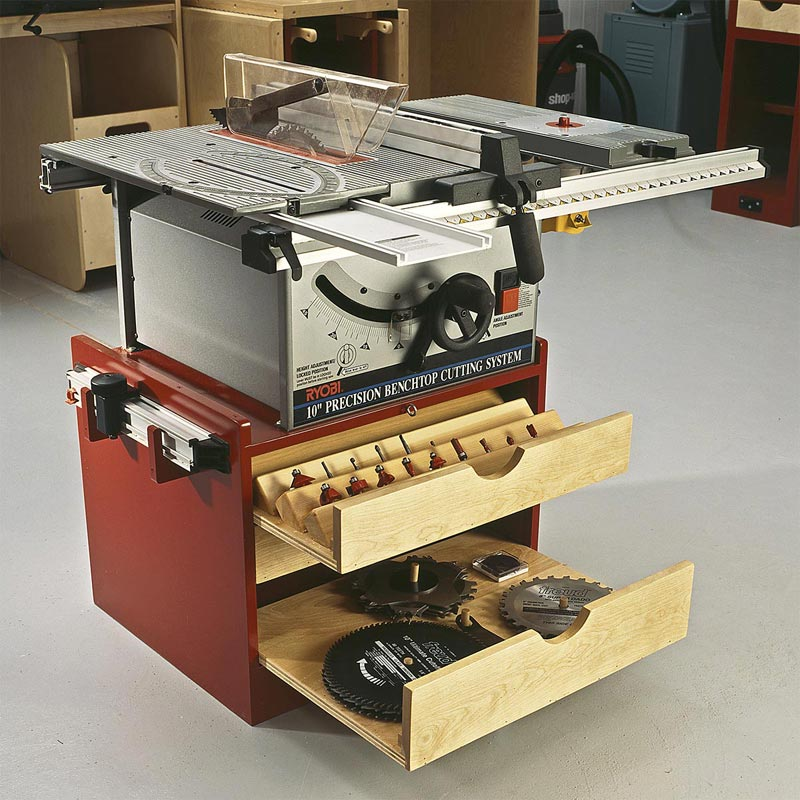 Admirable Mobile Tablesaw Base Home Interior And Landscaping Synyenasavecom