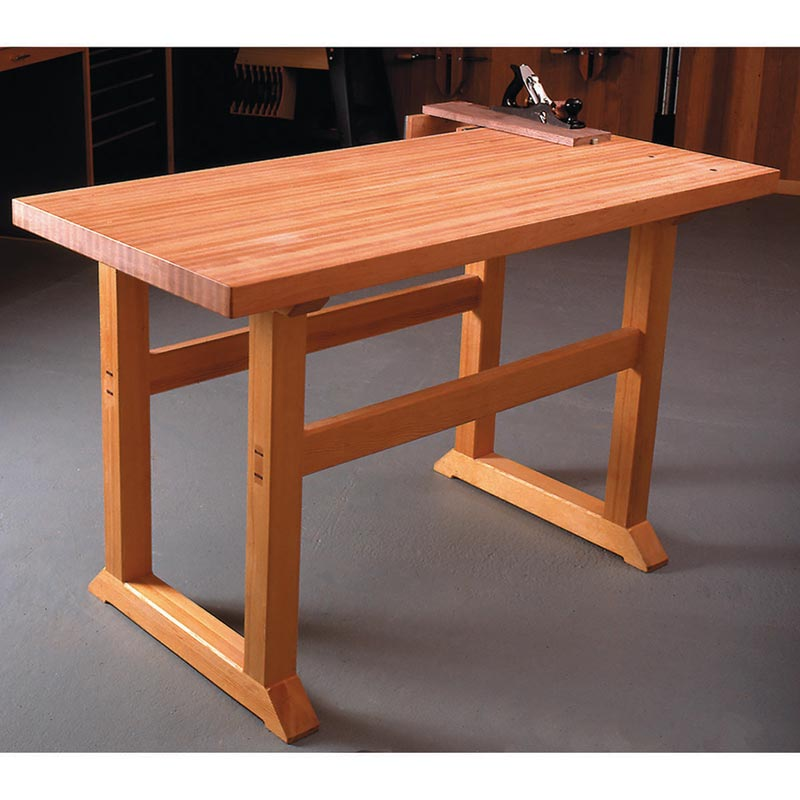 Build Workbench Plans: Simple-to-Build Workbench Woodworking Plan From WOOD Magazine