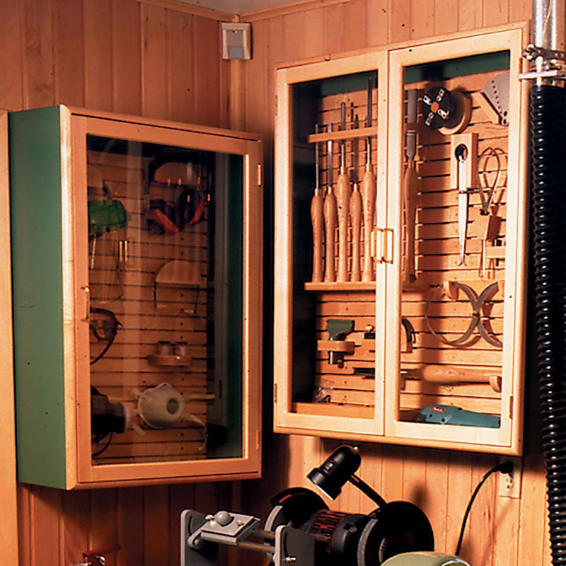 Creative Media Cabinet Woodworking Plan From WOOD Magazine