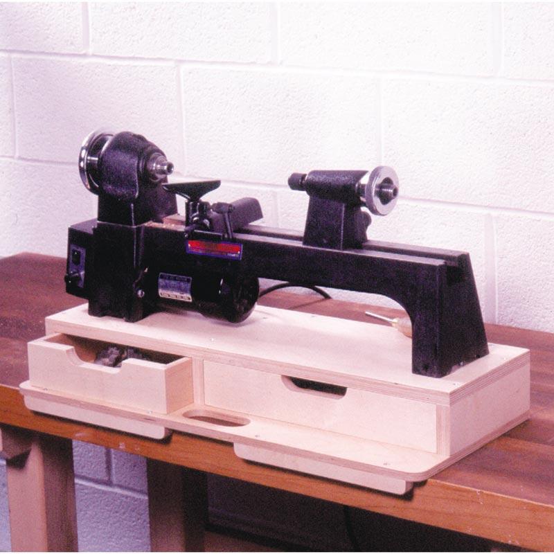 Portable Mini Lathe Base Woodworking Plan From Wood Magazine
