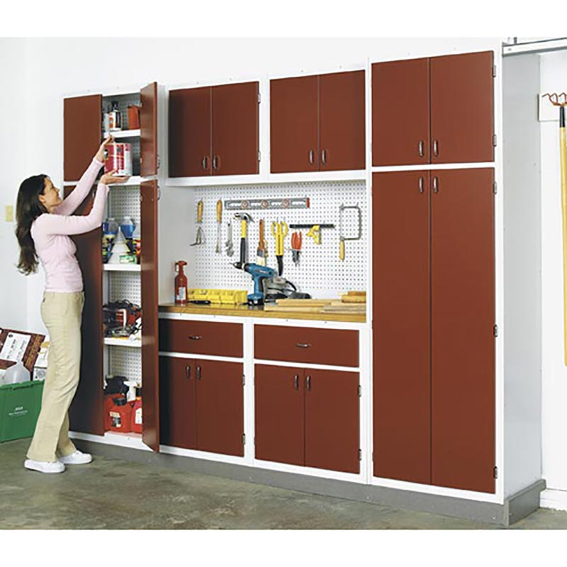 Garage Utility Shelf Plans Pdf Woodworking: Utility Cabinet System For Your Basement Or Garage