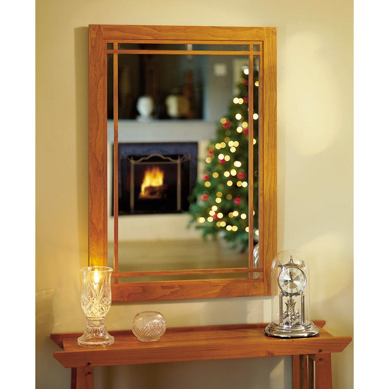 Cherry Wall Mirror Woodworking Plan From Wood Magazine