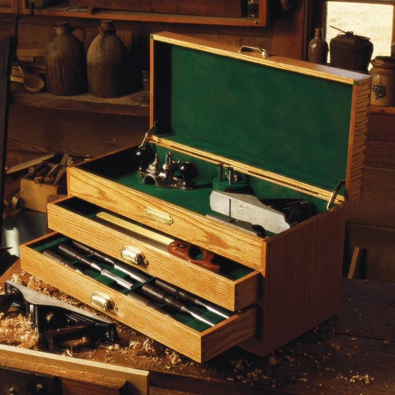 Carpenter's Toolbox Plans • WoodArchivist |Tool Box Woodworking Plans