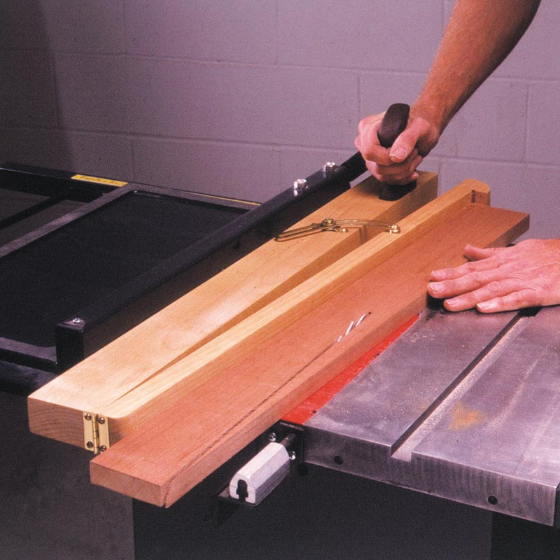 Tablesaw Taper Jig Woodworking Plan from WOOD Magazine