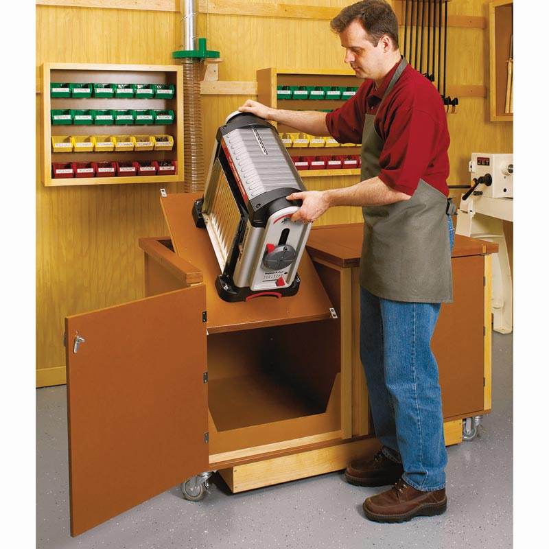 Flip Top Work Center Woodworking Plan From Wood Magazine