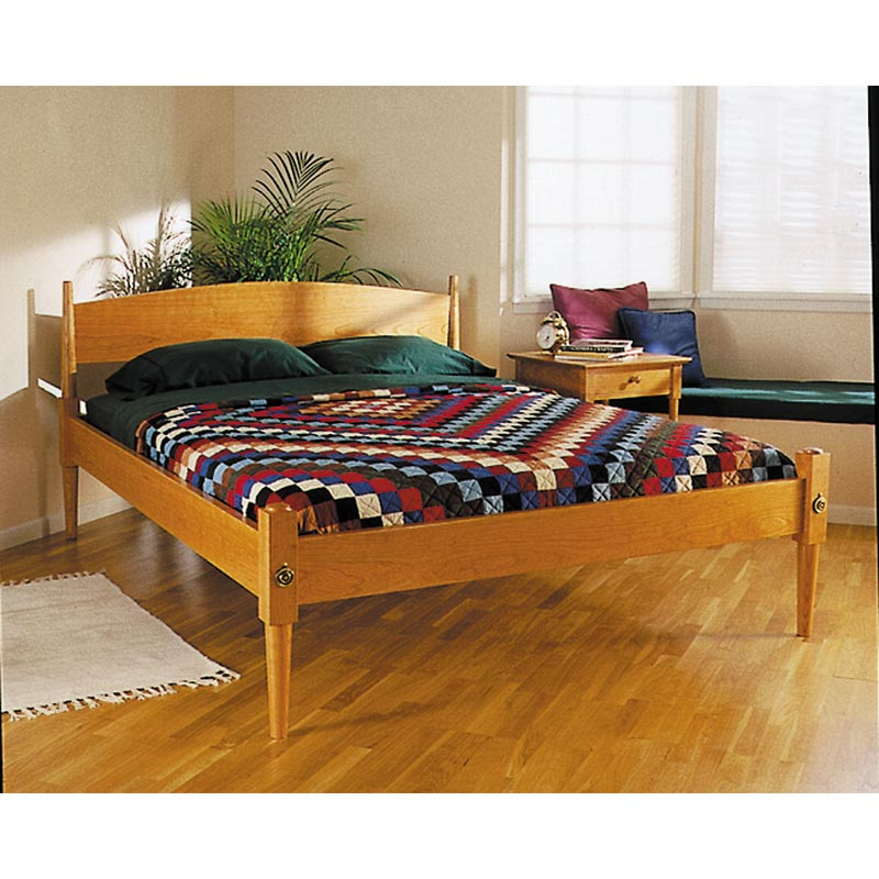Shaker bed woodworking plan from wood magazine - Woodworking plans bedroom furniture ...
